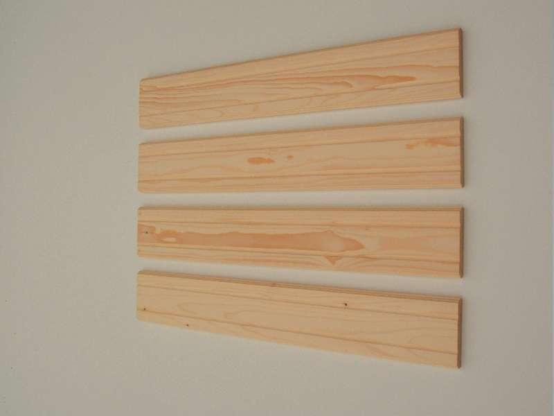 Lesene deske za montiranje ograje