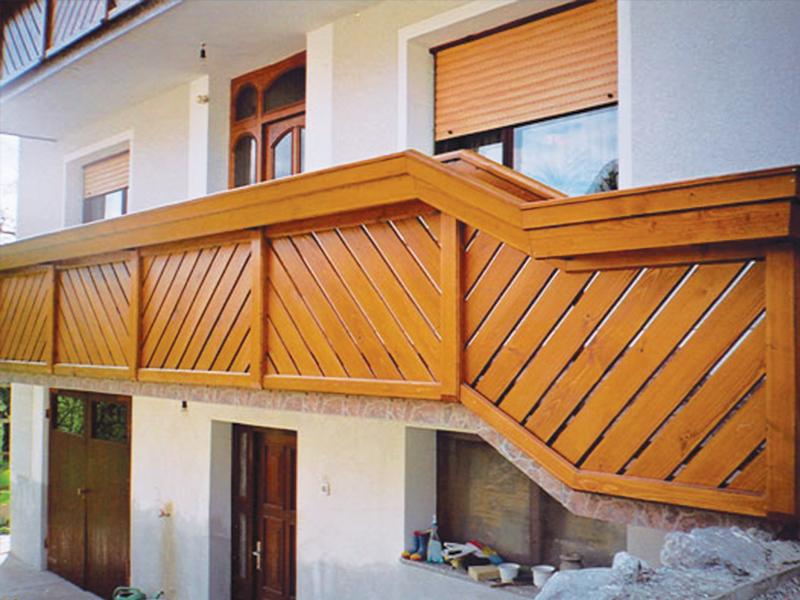 lepa poševna ograja za balkon in stopnišče